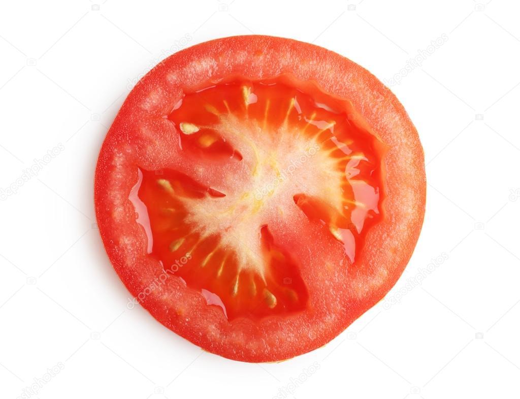 sliced tomato isolated stock photo belchonock 76814467