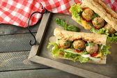 Pikantní karbanátek Sub Sandwich
