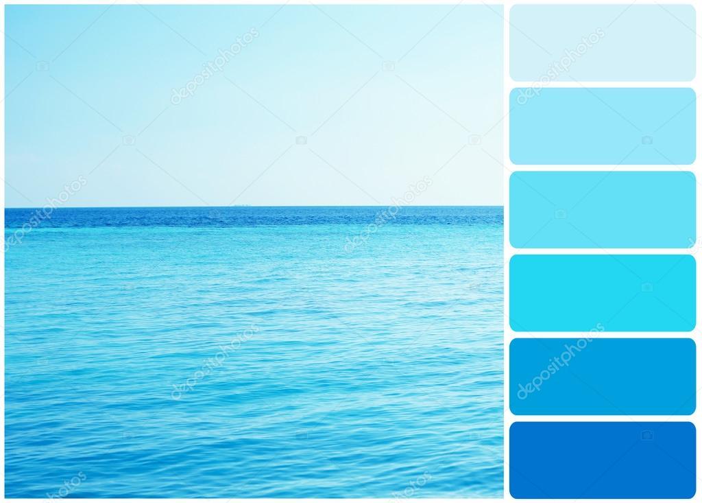 Clear ocean water
