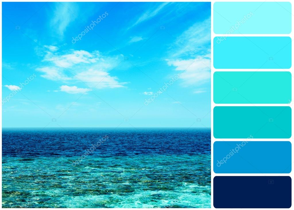 Apologise, Color of light that penetrates seawater were