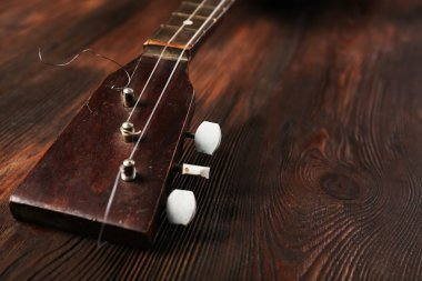 Folk musical instrument balalaika