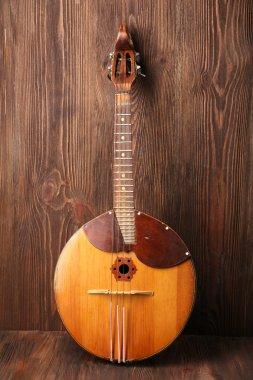 Folk musical instrument domra