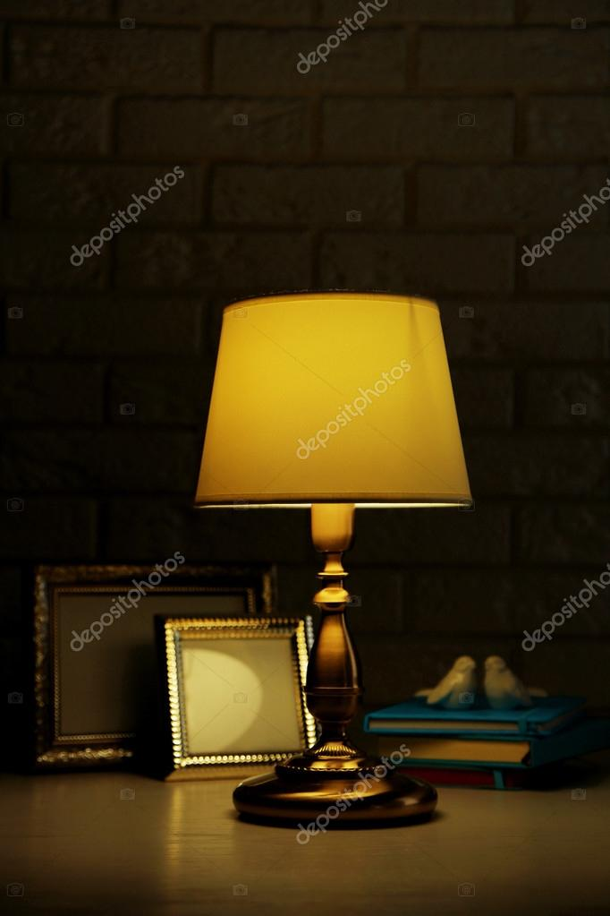 Old fashion table lamp stock photo belchonock 83080242 old fashion table lamp stock photo aloadofball Image collections