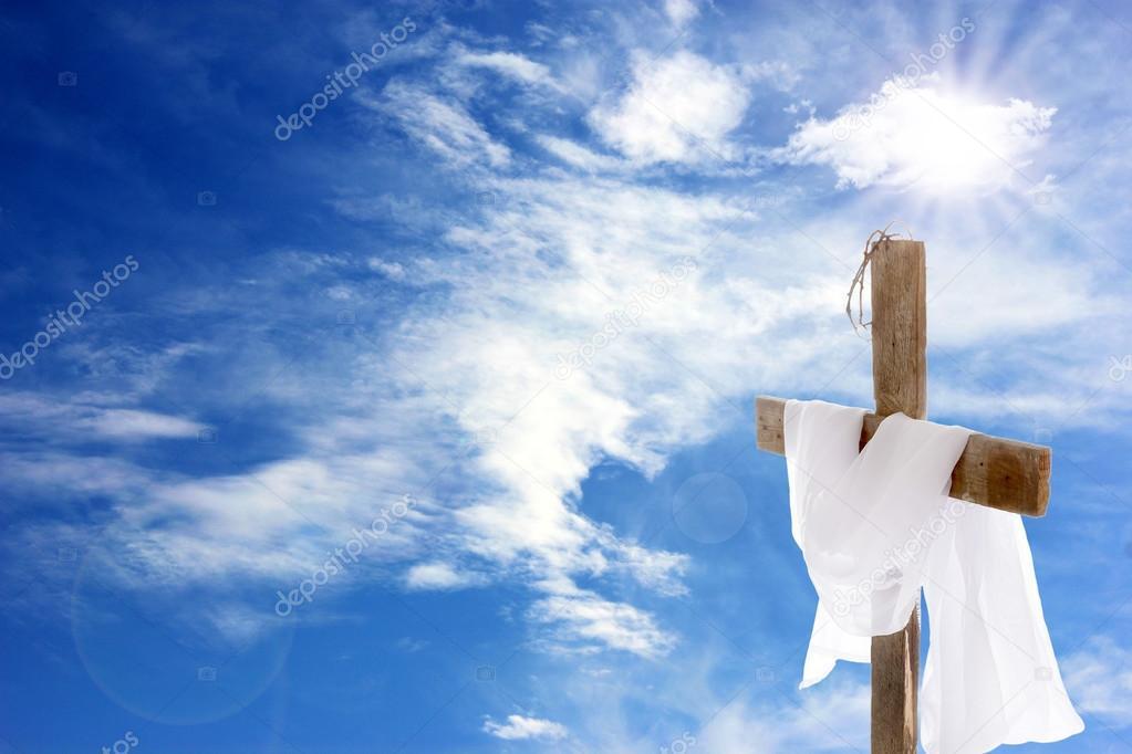 Cross With White Cloth Stock Photo 169 Belchonock 86113318