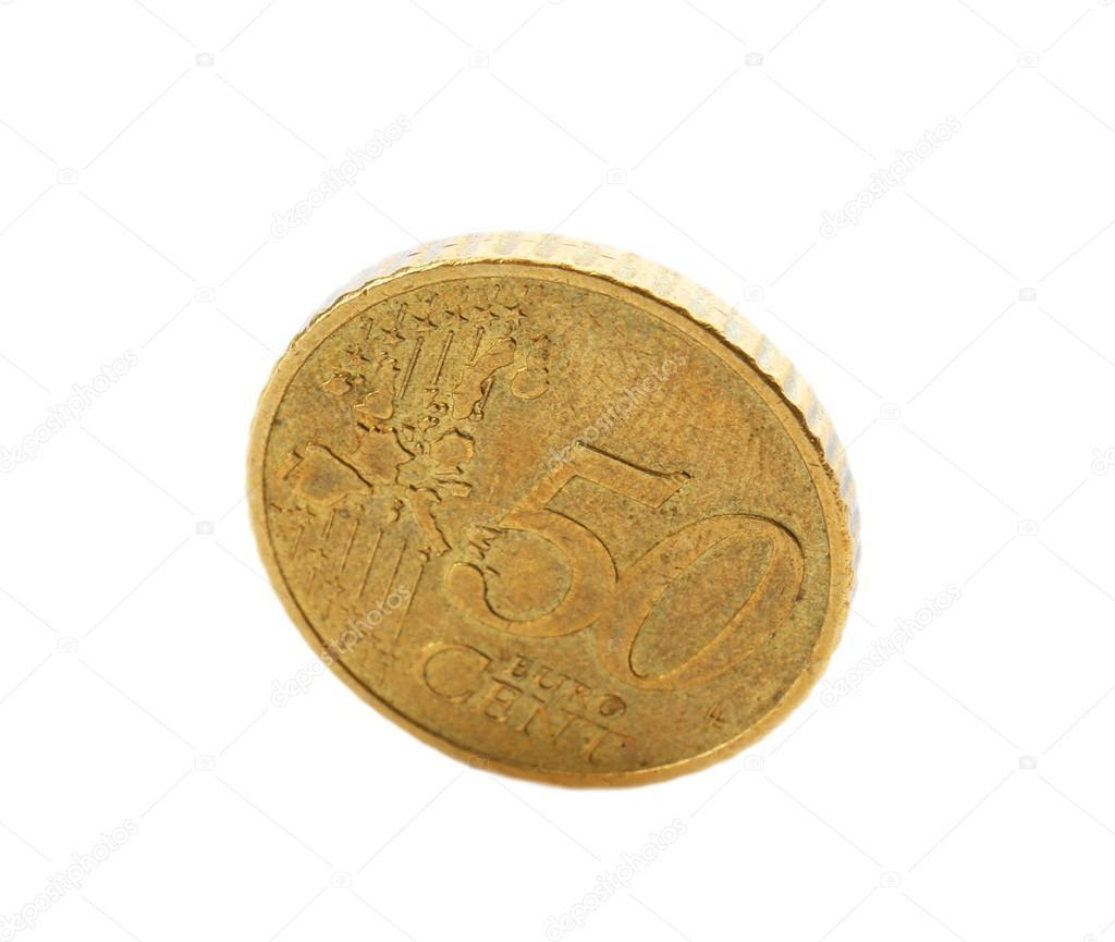50 Cent Münze Stockfoto Belchonock 90894922