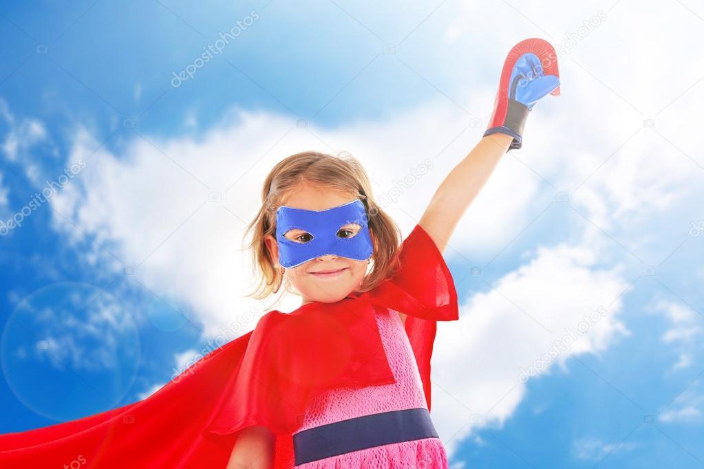 Super h ros petite fille photographie belchonock 93468518 - Image super heros fille ...