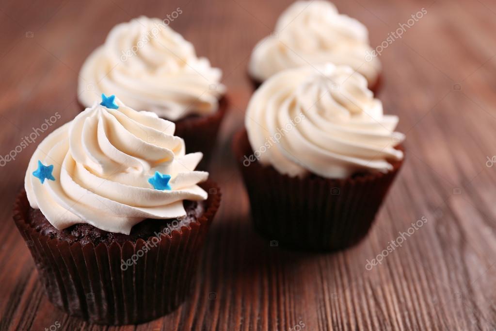 Beautiful Chocolate Cupcakes Stock Photo C Belchonock 96882738