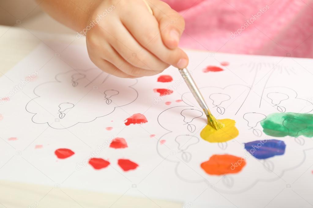 Disegno Di Un Bambino : Disegni di pasqua da colorare per bambini il coniglio youtube