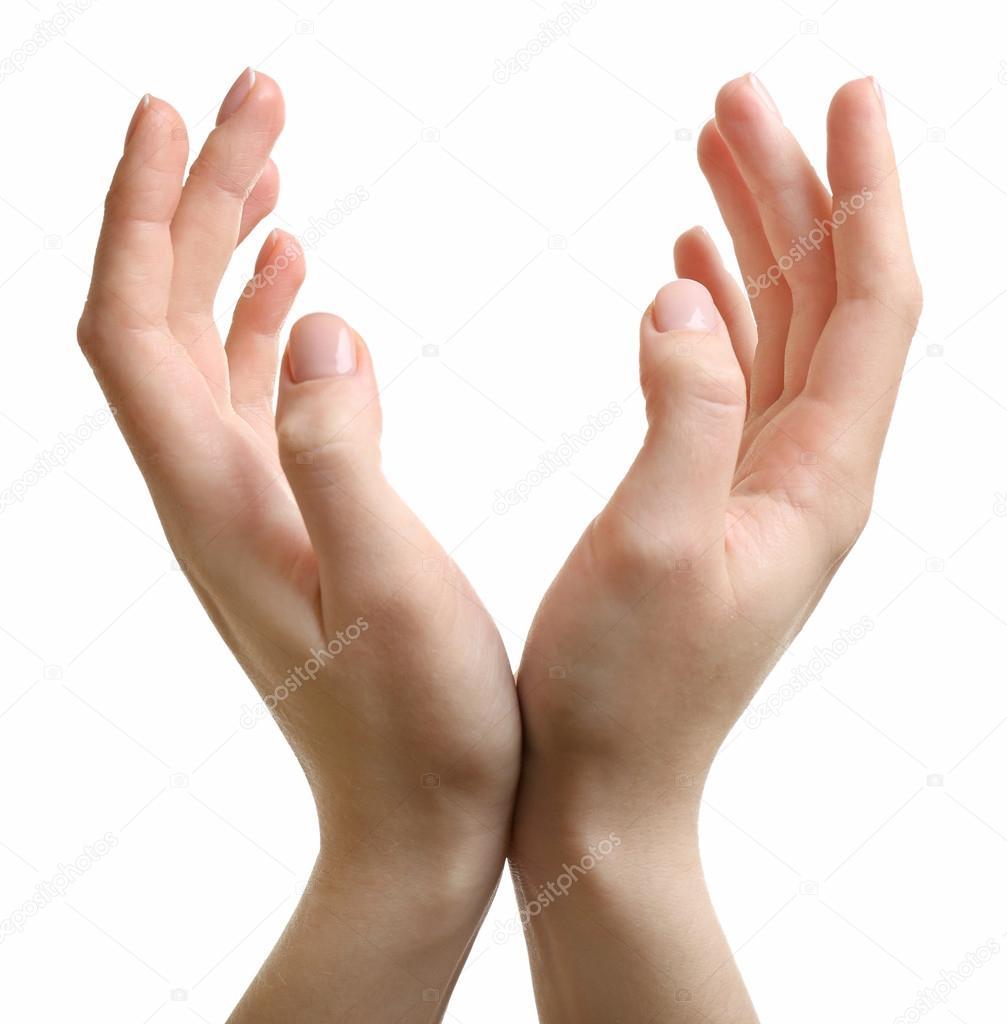 two hands posing stock photo belchonock 98456528