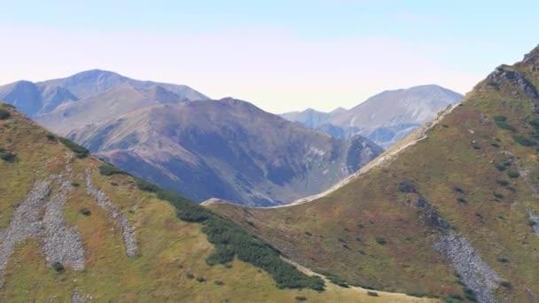 Tatranské hory v krásném podzimním světle.