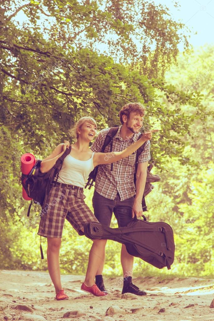 Приключения молодой пары