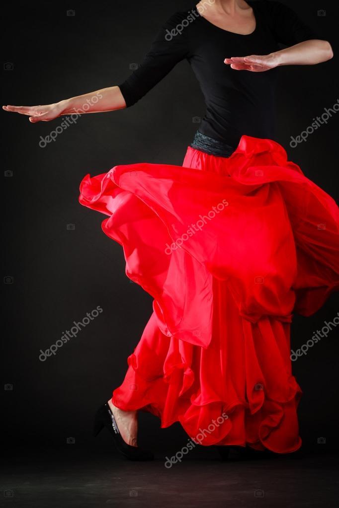 Сексуальные танцы и пляски фламенко