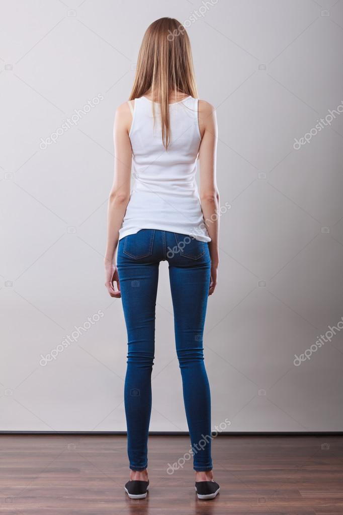 Фотографии скачать девушка задом в брюках