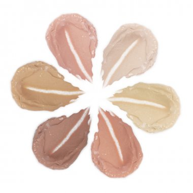 Foundation of different colors