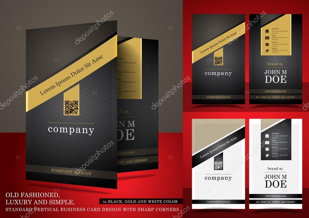 Old fashioned business card in black and gold color stock vector old fashioned business card in black and gold color stock vector reheart Image collections