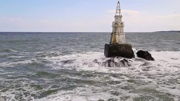 maják v moři