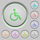 Fotografie Disability push buttons