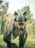 Fotografia Tirannosauro dinosauro estinto antico