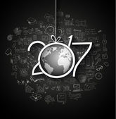 Infographic nový rok 2017
