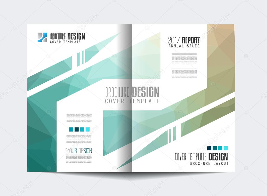 Broschüre-Vorlage, Flyer Design — Stockvektor © DavidArts #111423524