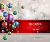 Fotografie 2015-neues Jahr und Frohe Weihnachten-Hintergrund