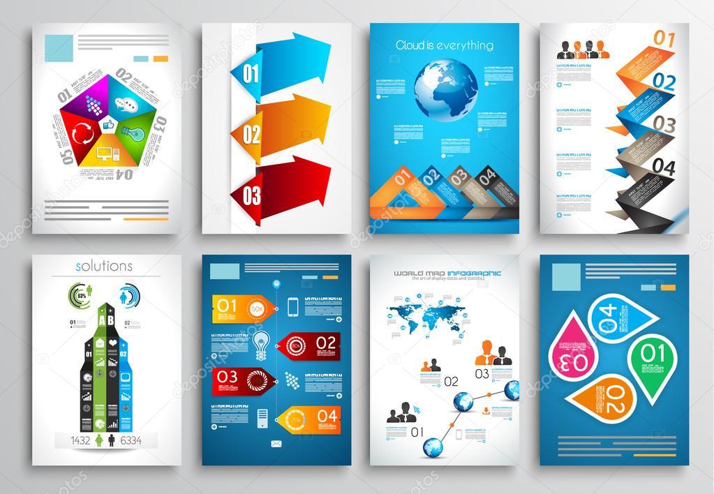 Set of Flyer Design
