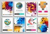 Sada Flyer Design, webové šablony