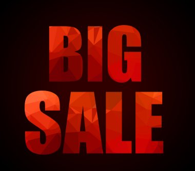 Big Sale promotional slogan