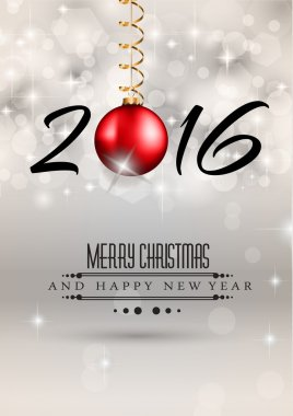 2016 Merry Chrstmas and Happy New Year