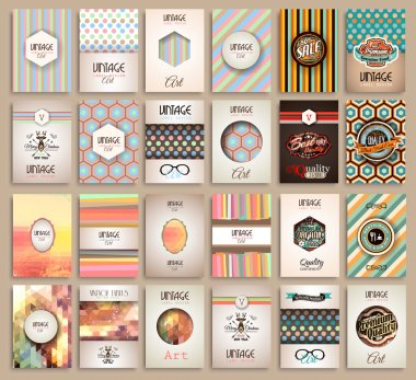 Vintage Styles brochure templates