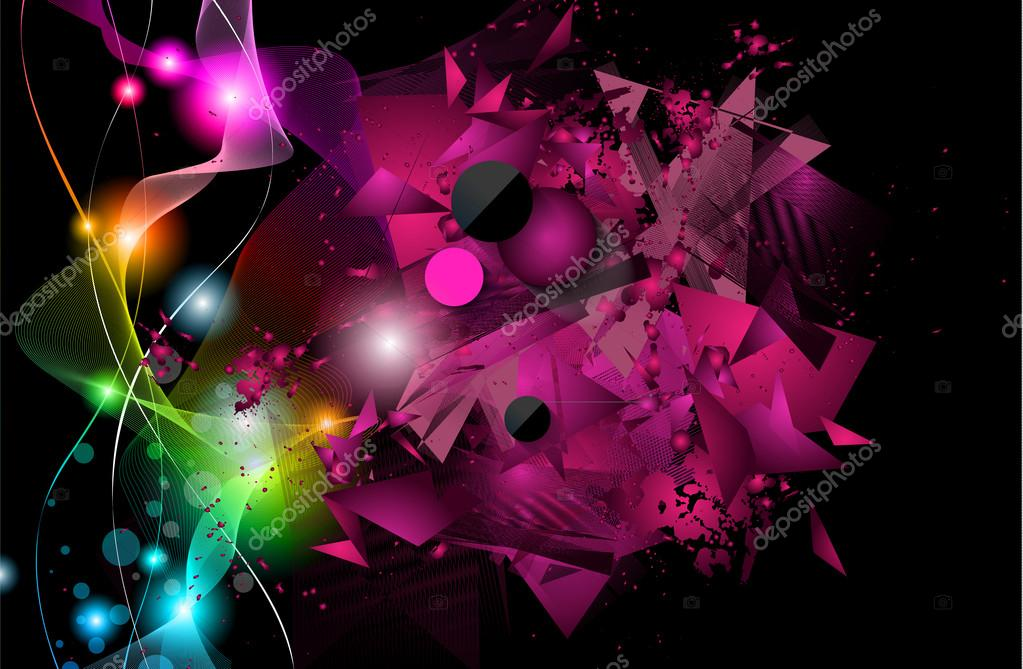 disco night club flyer layout stock vector davidarts 77631138