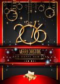Pozadí šťastný nový rok 2016