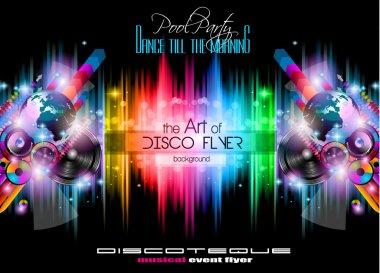 Club Disco Flyer Set