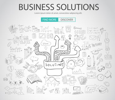 Business Solutions concept