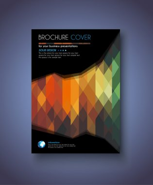 Brochure Template for Business Flyer Cove