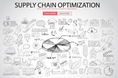 Supply Chain optimization concept