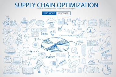 Supply Chain optimization concept