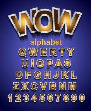 Festive Alphabet Font