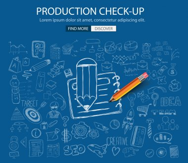 Production Check Up concept