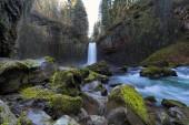Abiqua Falls nello stato di Oregon