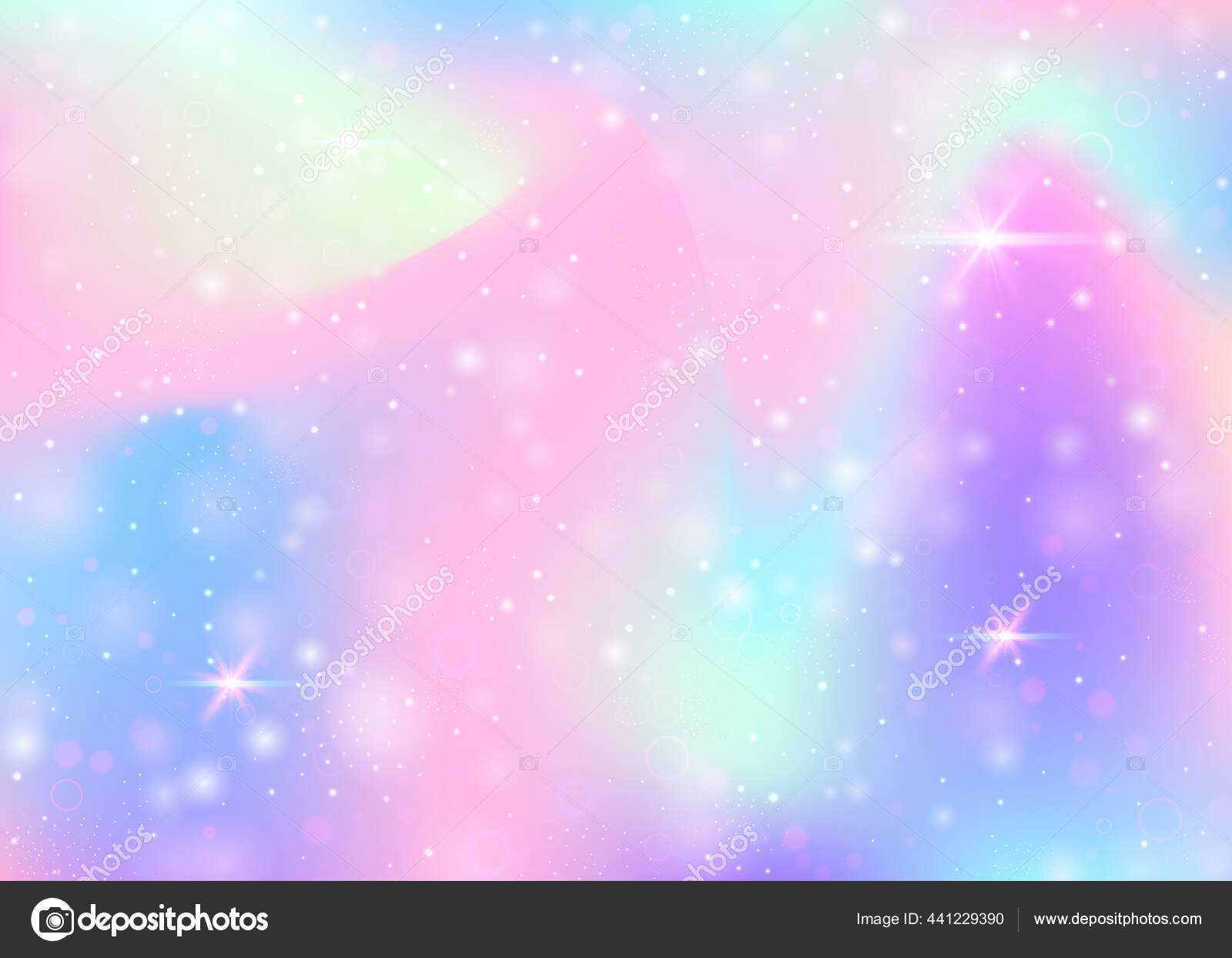 Latar Belakang Holografik Dengan Jala Pelangi Warna Warni Bendera Alam —  Stok Vektor © Olga_hmelevska #441229390