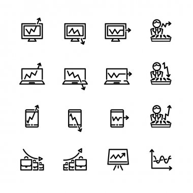 market icon set