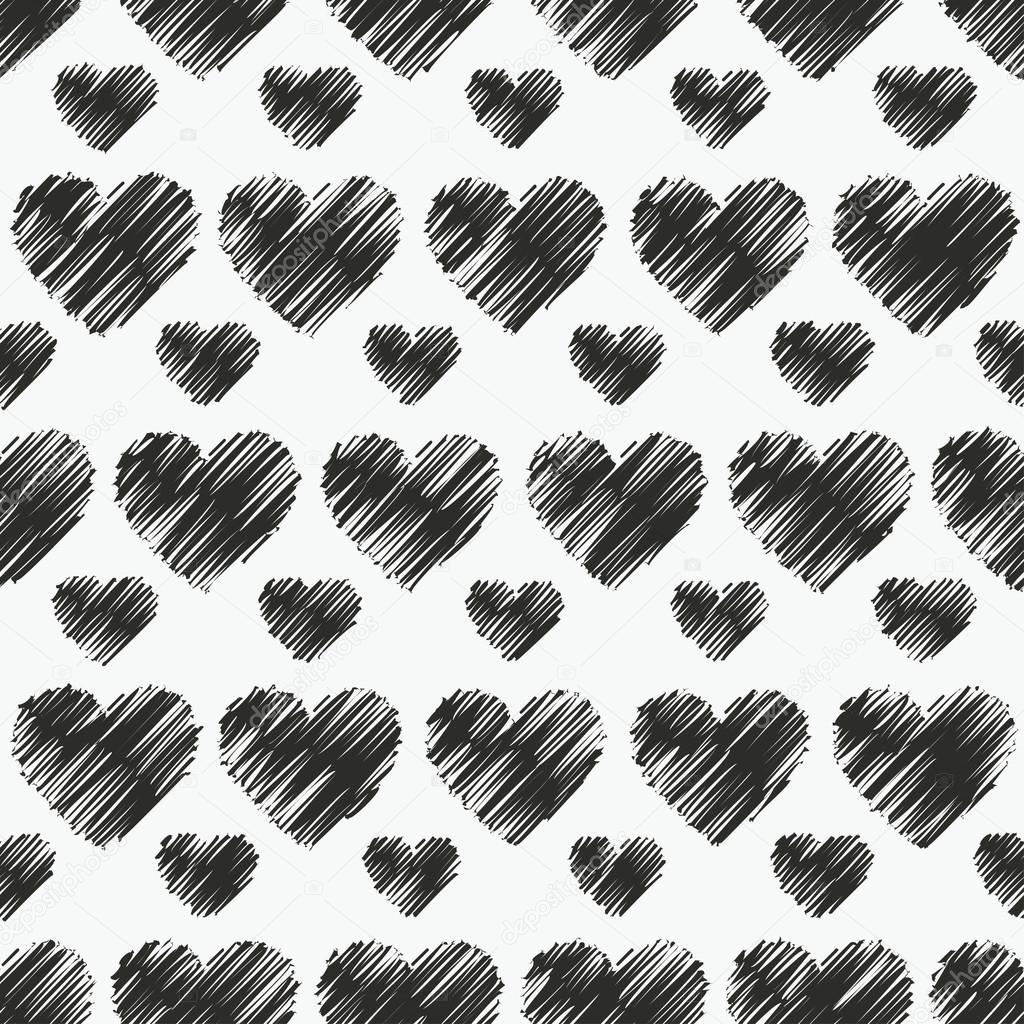 Fondo decorativo de vector transparente blanco y negro con - Papel pintado blanco y negro ...