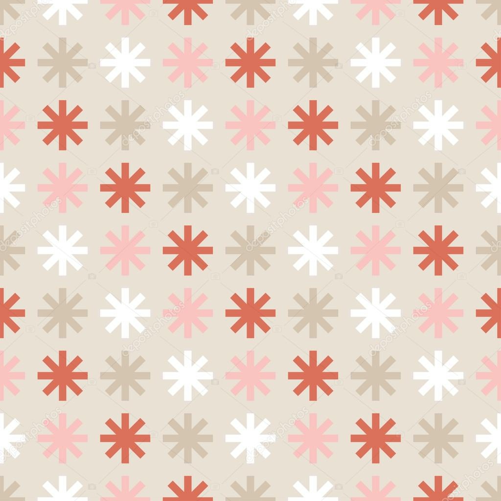Fondo sin costuras decorativa Navidad con copos de nieve. Imprimir ...
