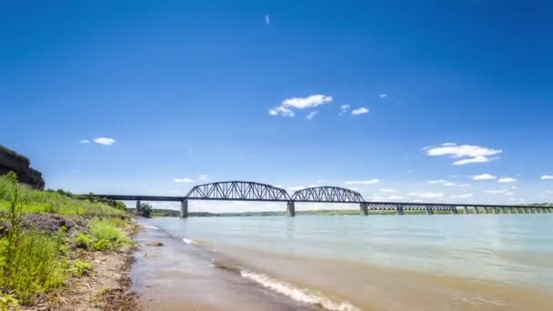 Velká řeka během letního času