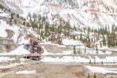 Opuštěný důl budova