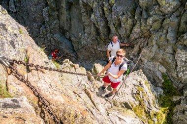 Risky climbing