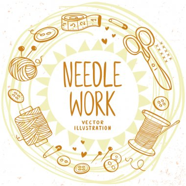 Needle work design
