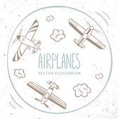 aeroplani intorno