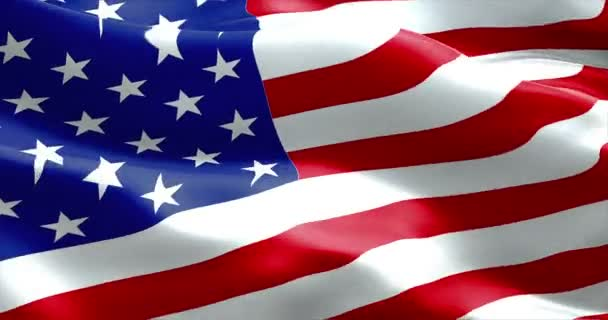 American USA waving flag, united states of america